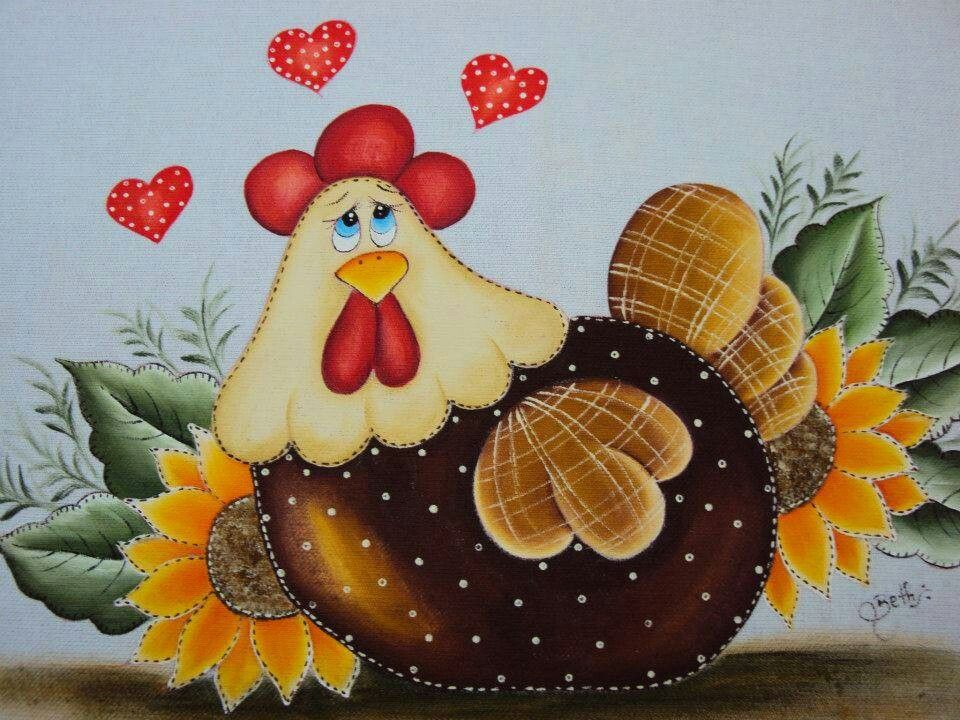Very cute  Painting ideas  Pinterest  Pintura Country and Tole