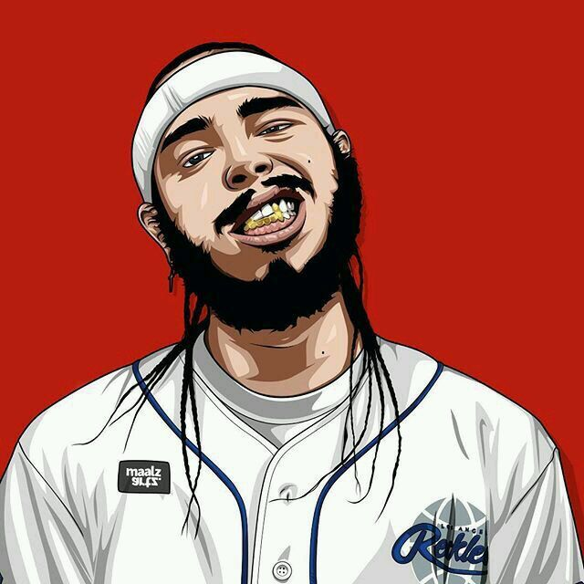 Post Malone Drawing: Pin By Change My On Boom