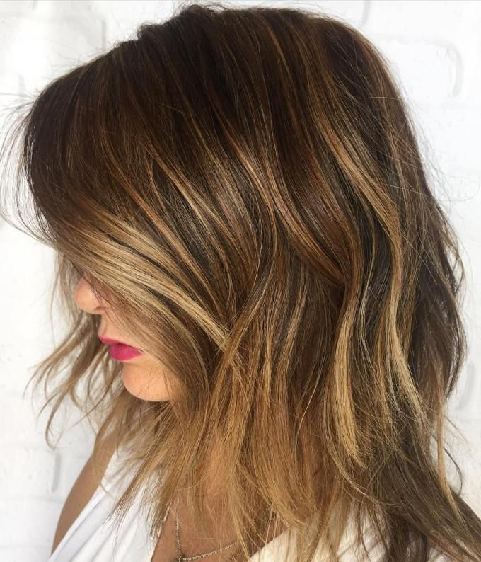 45 Ideas For Light Brown Hair With Highlights And Lowlights Medium