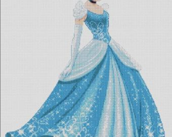 Counted Cross Stitch pattern or kit Ice Queen Elsa Princess
