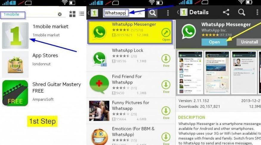 Nokia 206 скачать whatsapp