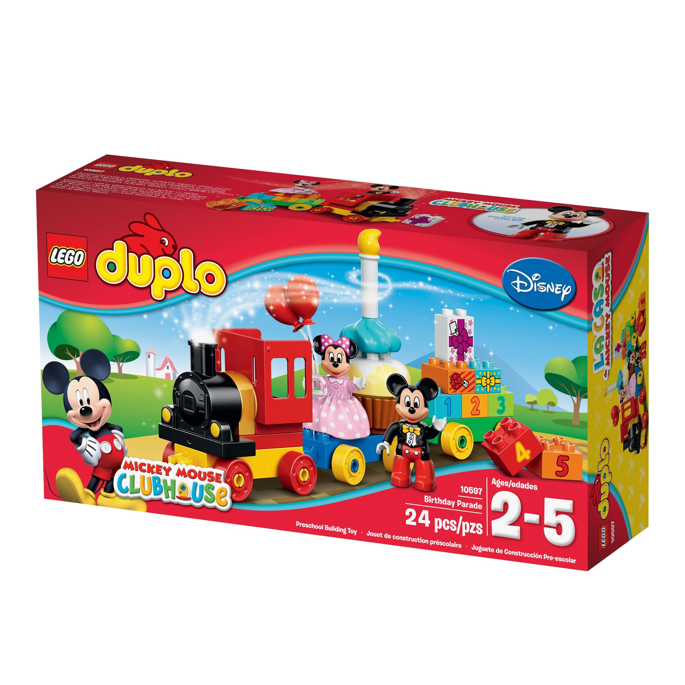 Educational Preschool Toy Building Blocks For Your Toddler With Images Lego Duplo Lego Disney Mickey Birthday