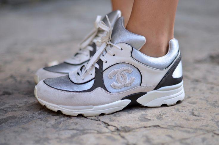 cd3d78c26838 Tendance Sneakers 2018   Baskets Chanel, Chanel Sneakers   TPE ...