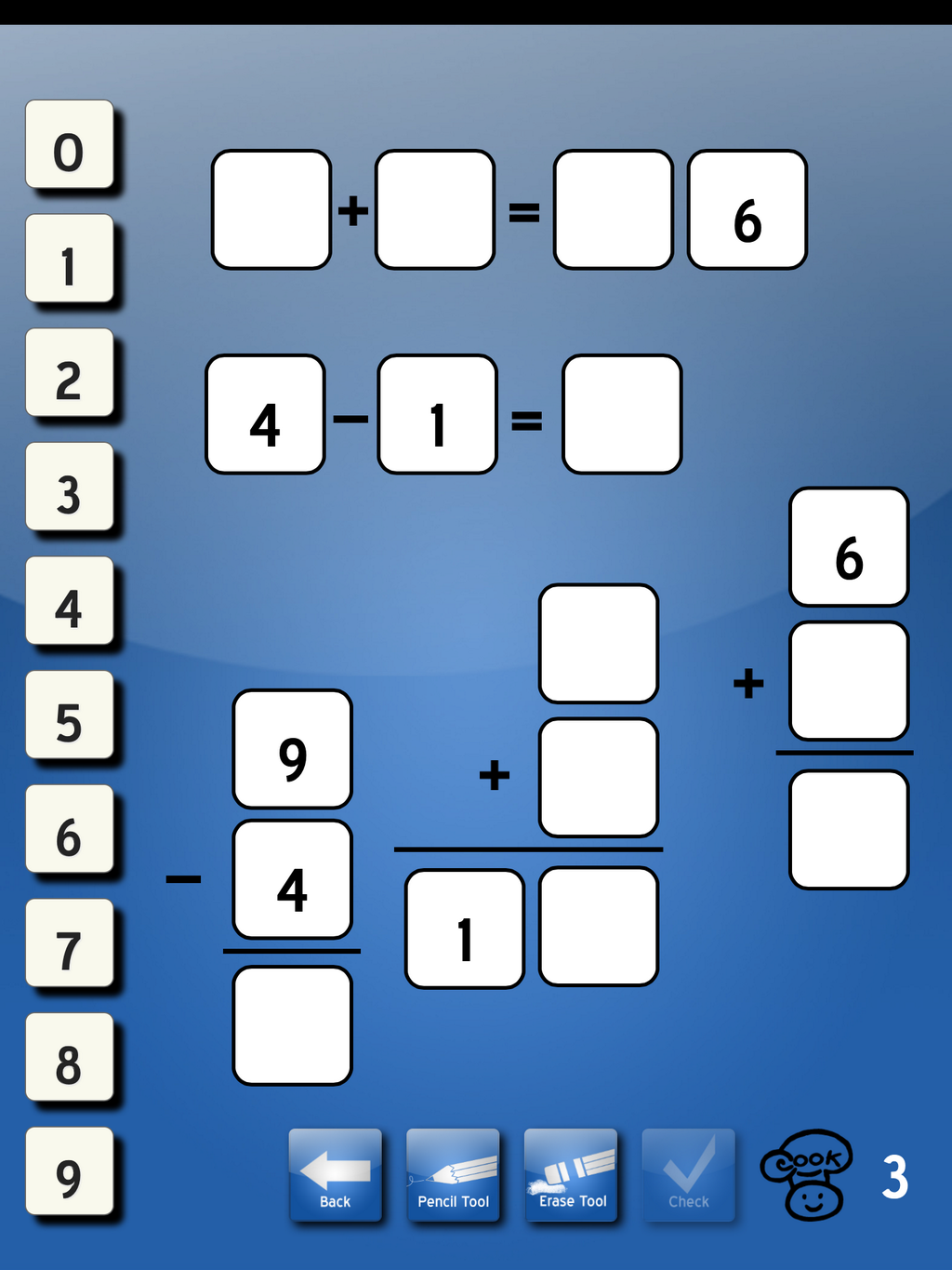Marcy Cook Tiles App Addition Subtraction With