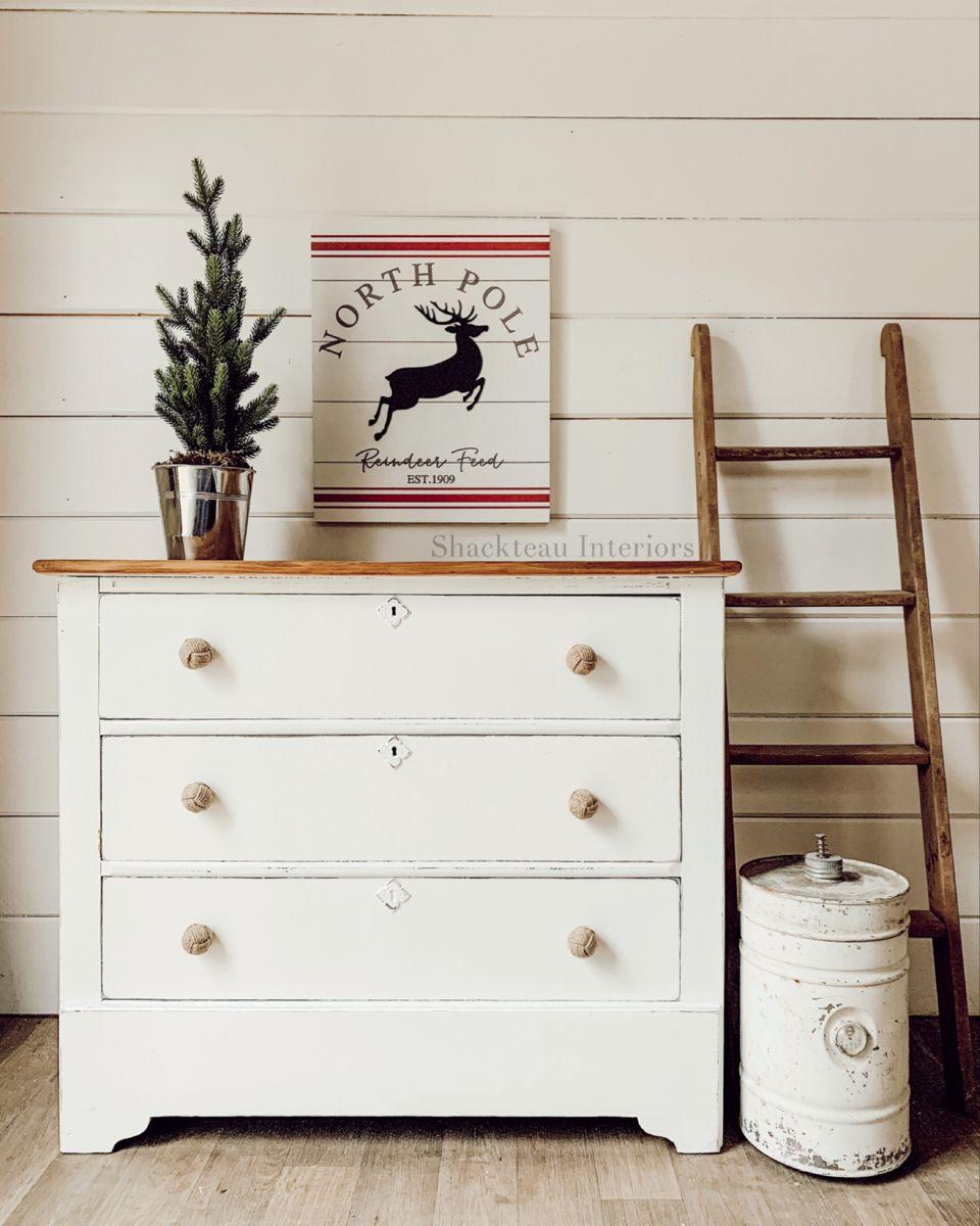 Monkey Fist Jute Drawer Pulls Vintage White Dresser Pine Dresser White Painted Dressers [ 1200 x 960 Pixel ]