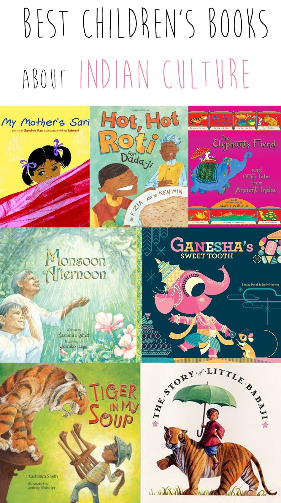 Best children's books about Indian culture from @madhmama ...