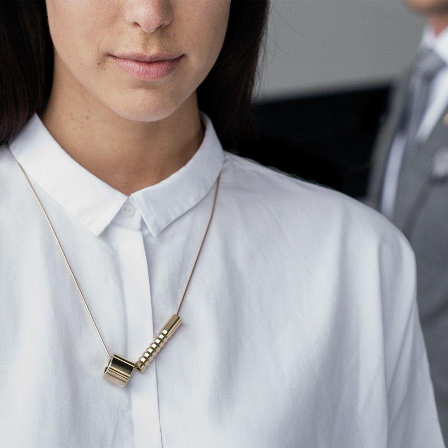Nola silver necklace
