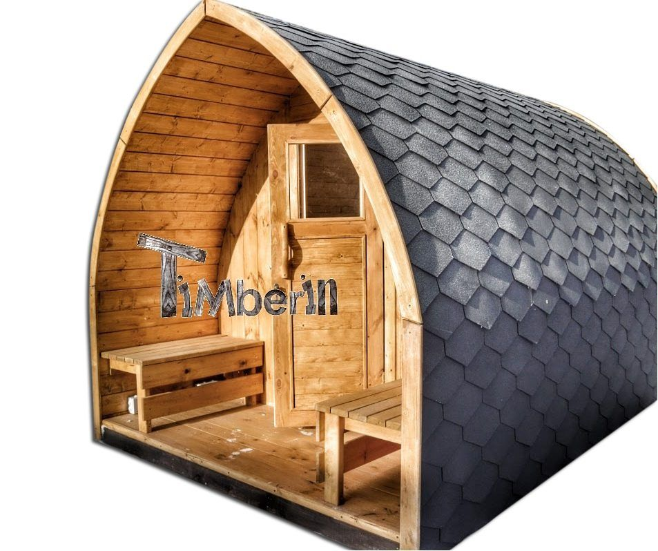 au ensauna mit vorraum und holz elektroofen igloo mit panoramafenster neues zu hause pinterest. Black Bedroom Furniture Sets. Home Design Ideas