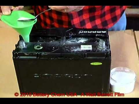 How To Recondition Lead Acid Batteries By Walt Barrett