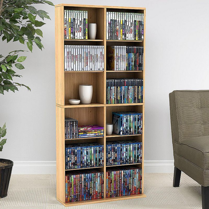 Atlantic Oskar 464 Multimedia Storage Cabinet Bookcase Media