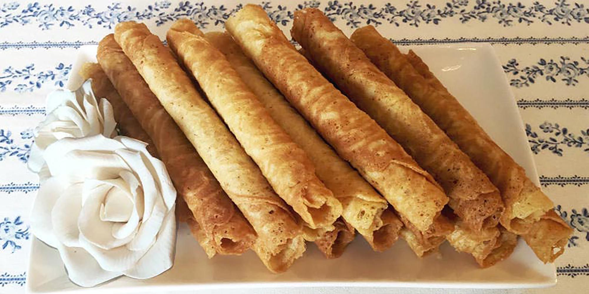 Gefullte Waffeln Russische Art Trubochki Rezept Waffeln Kochen Und Backen Essen Und Trinken
