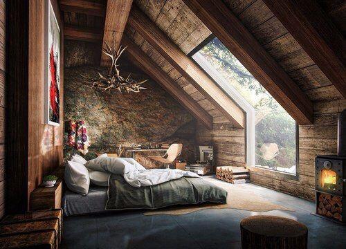 18092015 home pinterest dachgeschossausbau dachboden und wohnen. Black Bedroom Furniture Sets. Home Design Ideas
