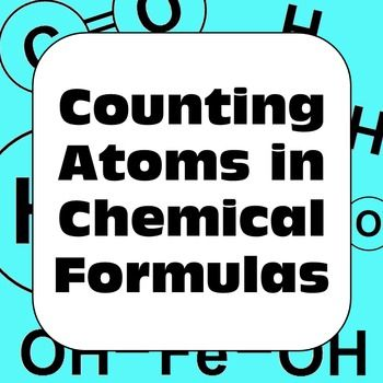 Chemistry counting atoms in