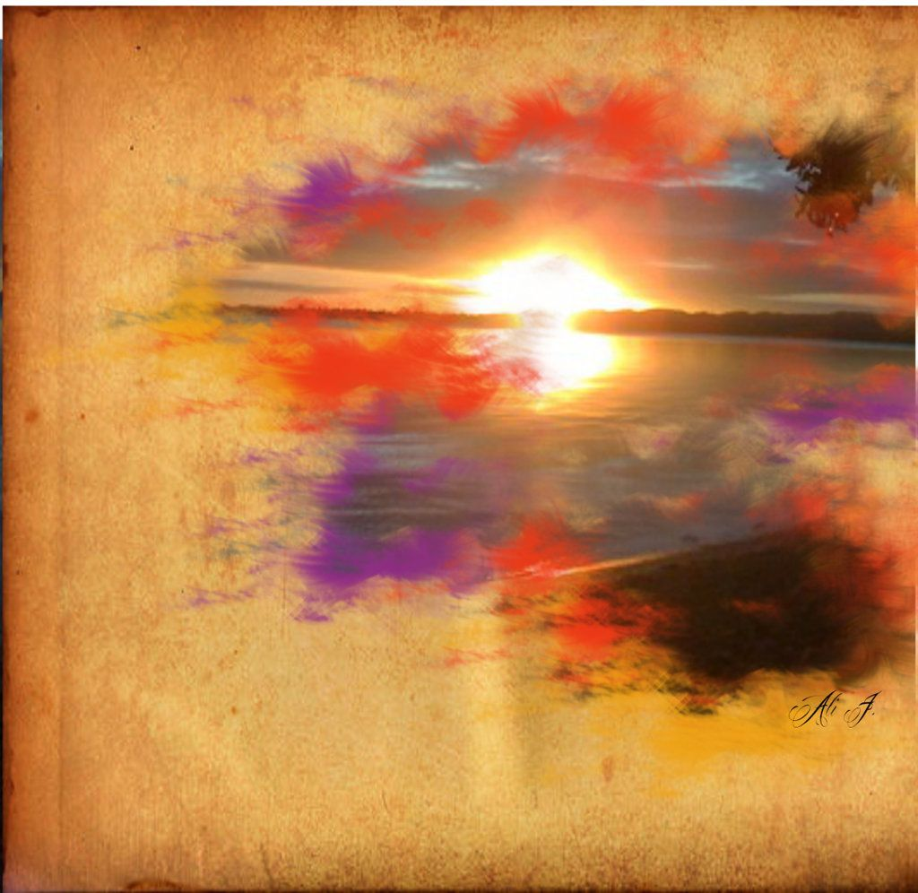 Sunset Watercolor Tattoo Google Search Put This On My Shoulder