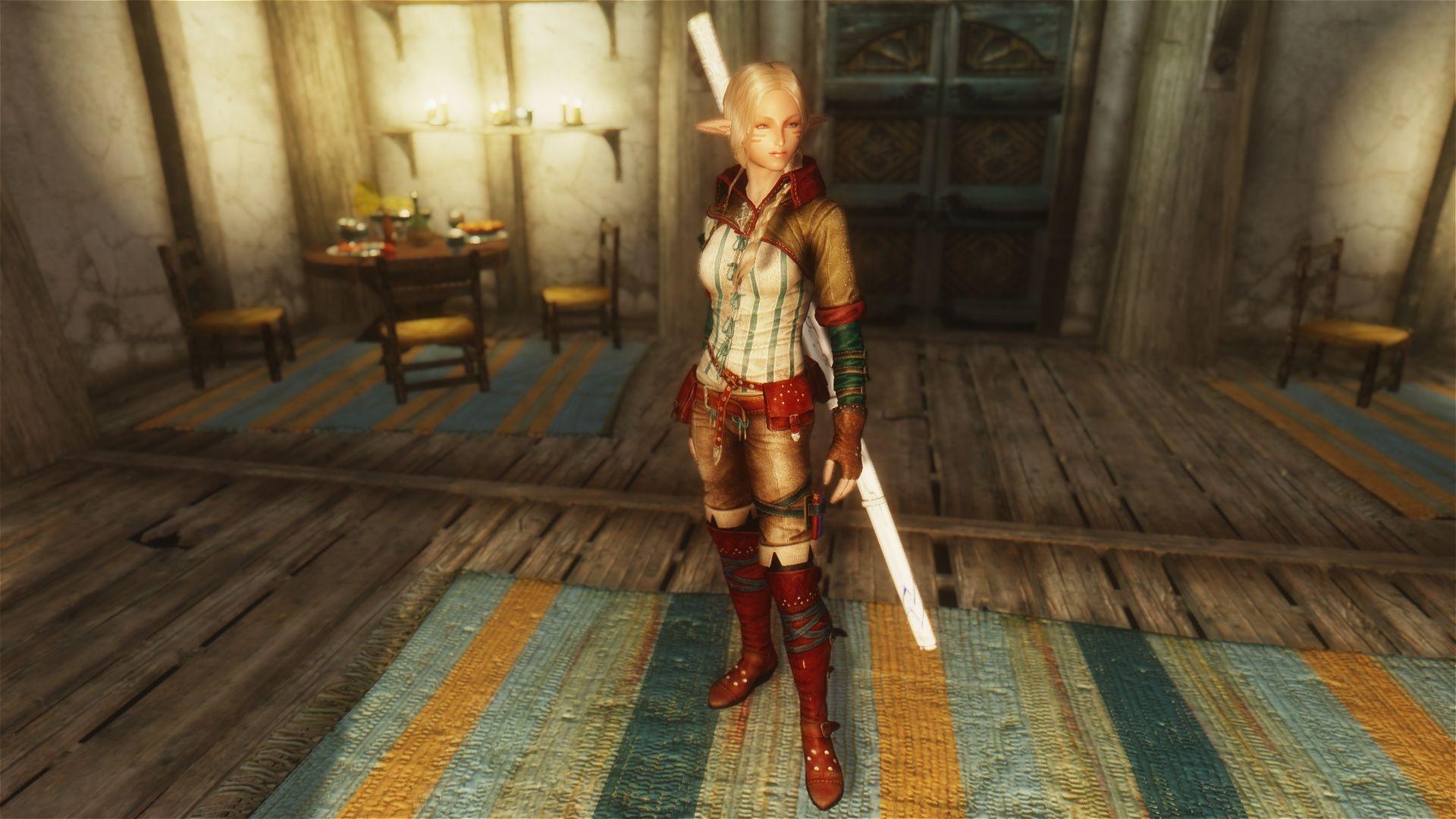 Pretty Female Idles by Dualsun | Skyrim Nexus Mods | Skyrim