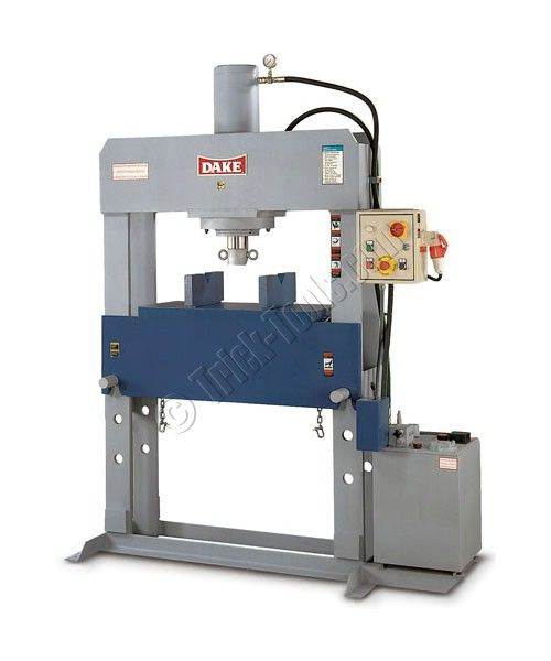 Force 100 972005 Dake 100 Ton Electrical H Frame Press Hydraulic Press Machine Hydraulic Shop Press H Frame