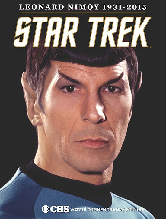 I have my copy. Do you? Star Trek FIRST LOOK: Nimoy Commemorative Magazine