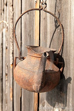 old rusty teapot by Iosif Yurlov, via Dreamstime