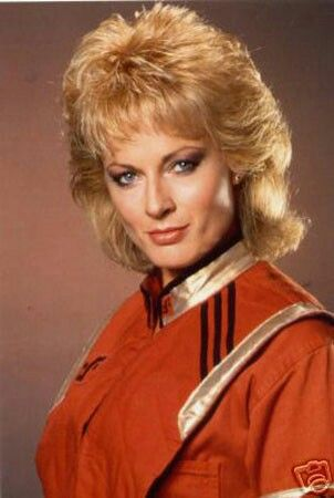 June Chadwick is an English film and television actress. Her best-known television roles are as Lydia in the science fiction TV series V: The Series, and as Lt. Joanna Parisi on the third season of the series Riptide. Born: November 30, 1951 (age 64), Warwickshire