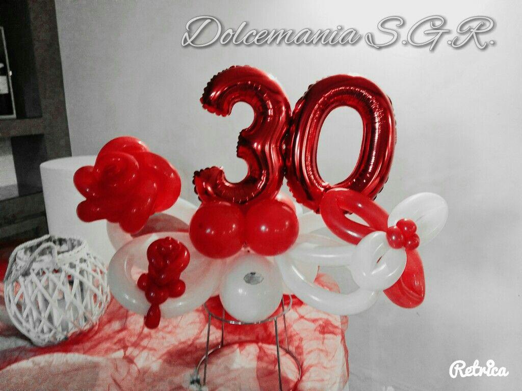 #dolcemania #palloncini #puglia #sangiovannirotondo #balloons #balloon #foggia #gargano #italia #italy #balloonart #red #trenta #rosso