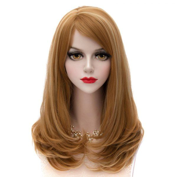 Synthetic Wigs 65cm Long Wavy Black Mixed Blonde Lolita Girls Fashion Cosplay Full Wig+wig Cap Heat Resistant Good Reputation Over The World