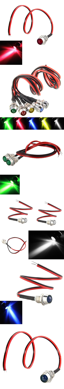 5pcs Lot Led Indicator Light Lamp Pilot Dash Direction Bulb Dashboard Panel Instrument Car