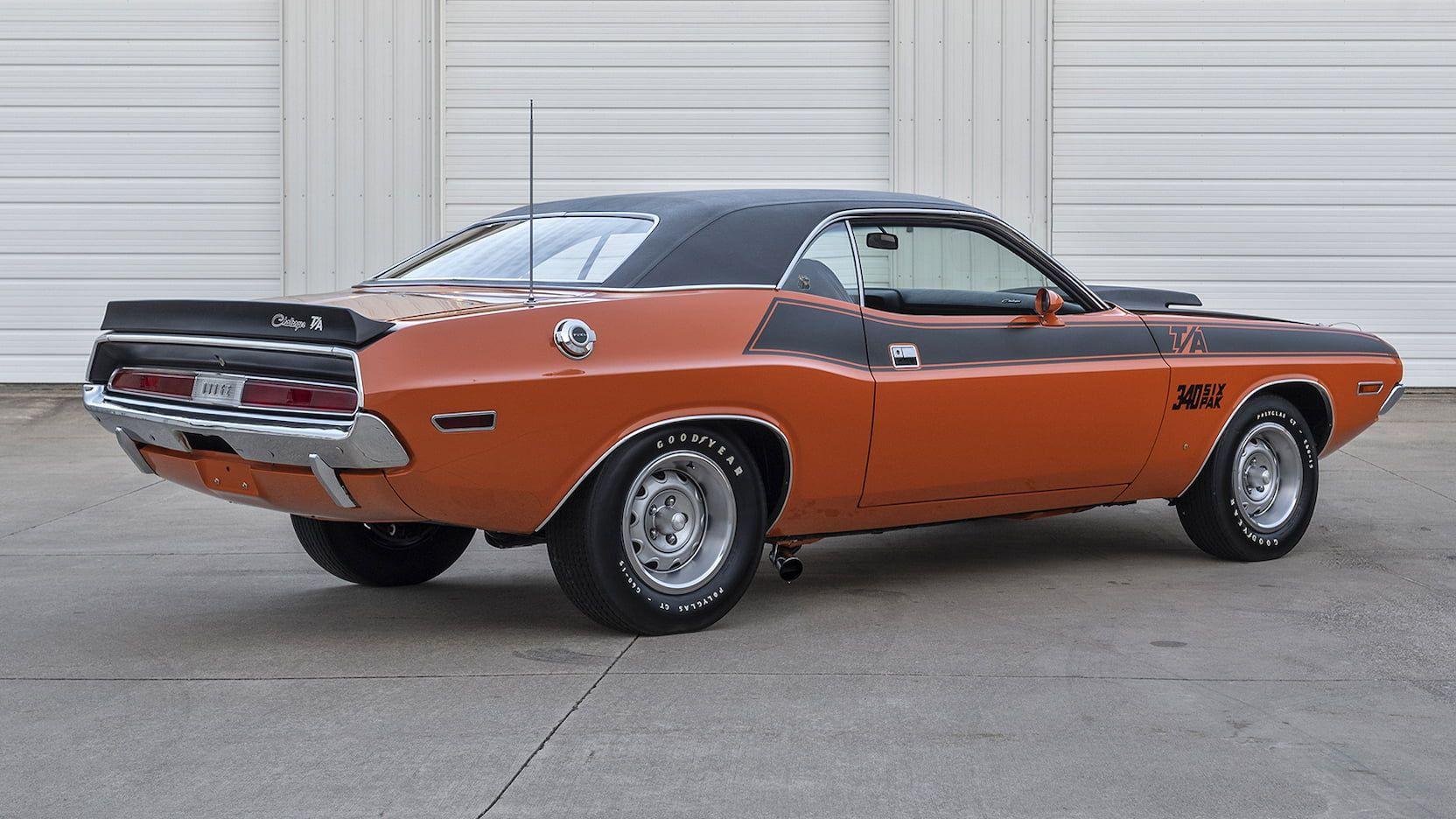 1970 Dodge Challenger T A F230 Indy 2019 Dodge Challenger Challenger Pony Car