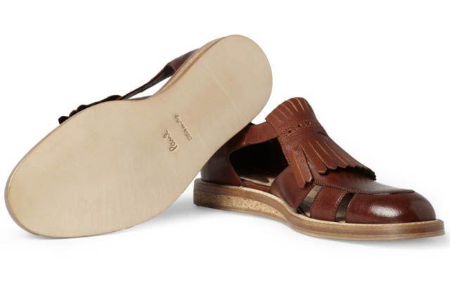 Пол Смит сделал полузакрытые мужские сандалии   Что происходит   Мода   Мужской журнал GQ