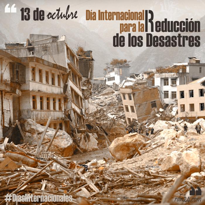 13 de octubre – Día Internacional para la Reducción de los ...