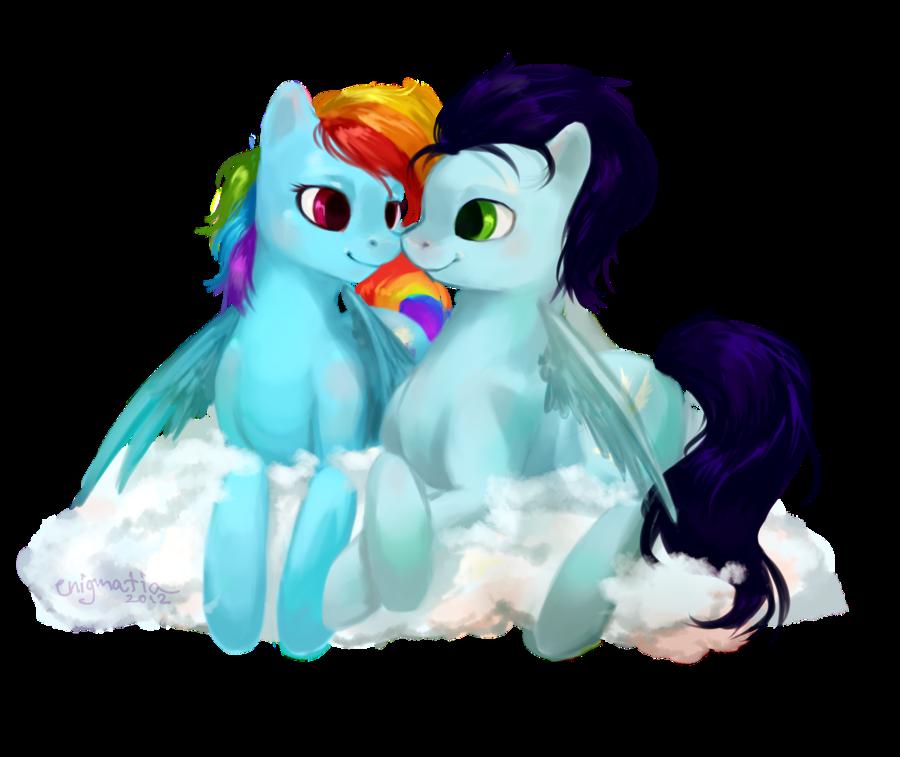 RainbowDash & Soarin = SoarinDash