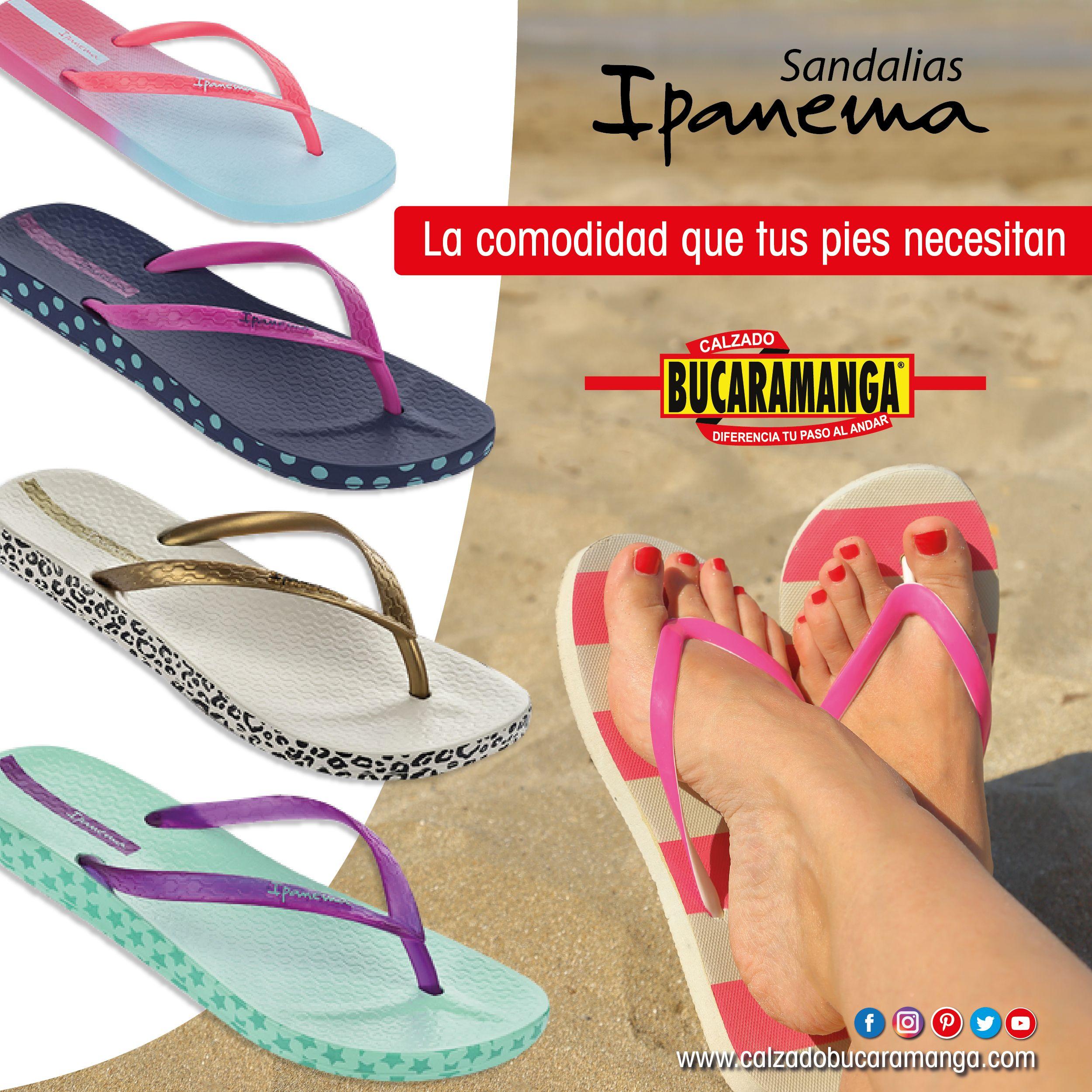 c85d44fbb1a La comodidad que tus pies necesitan la consigues en Calzado Bucaramanga con   Sandalias Ipanema ❤