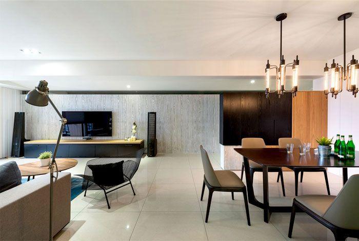 Modern Urban Dwelling by White Interior Design modern urban dwelling ...