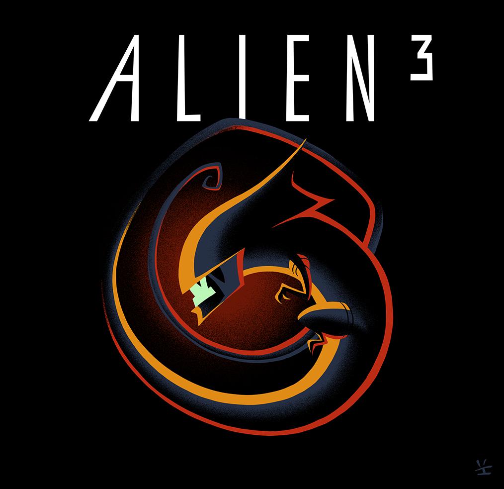 Alien Deco The Third By Inkjava On Deviantart Aliens Movie Alien Alien Vs Predator