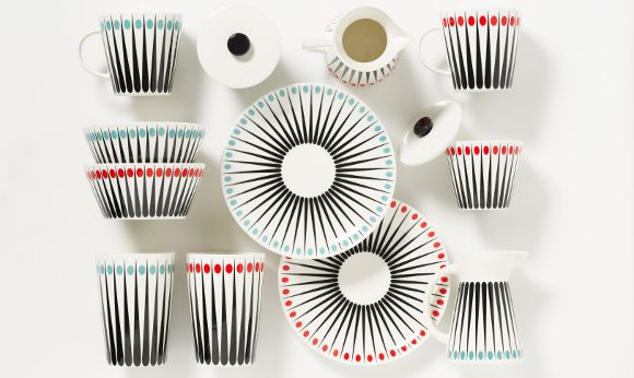 Tableware from Danish company Superliving. www.illustratedliving.co.uk