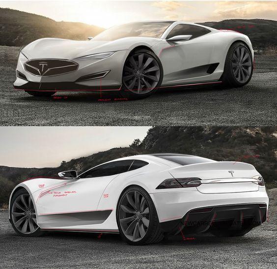 """Tesla Motors Images Tesla Model S Larson Sketches: MUST SEE """"2018 Tesla Model R Concept"""" Concept Release Date"""