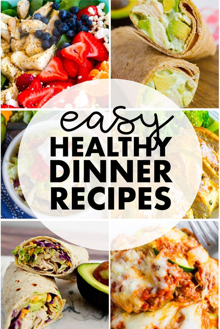 Easy Healthy Dinner Ideas images