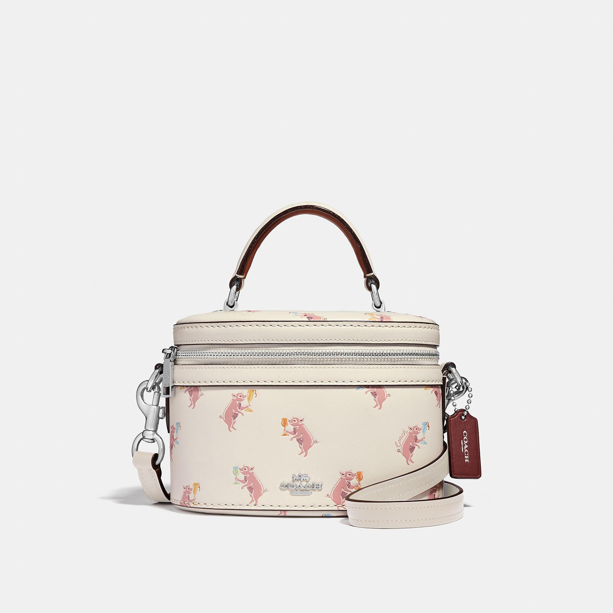 889ebf858a2f COACH Trail Bag With Party Pig Print - Women s Designer Crossbody ...