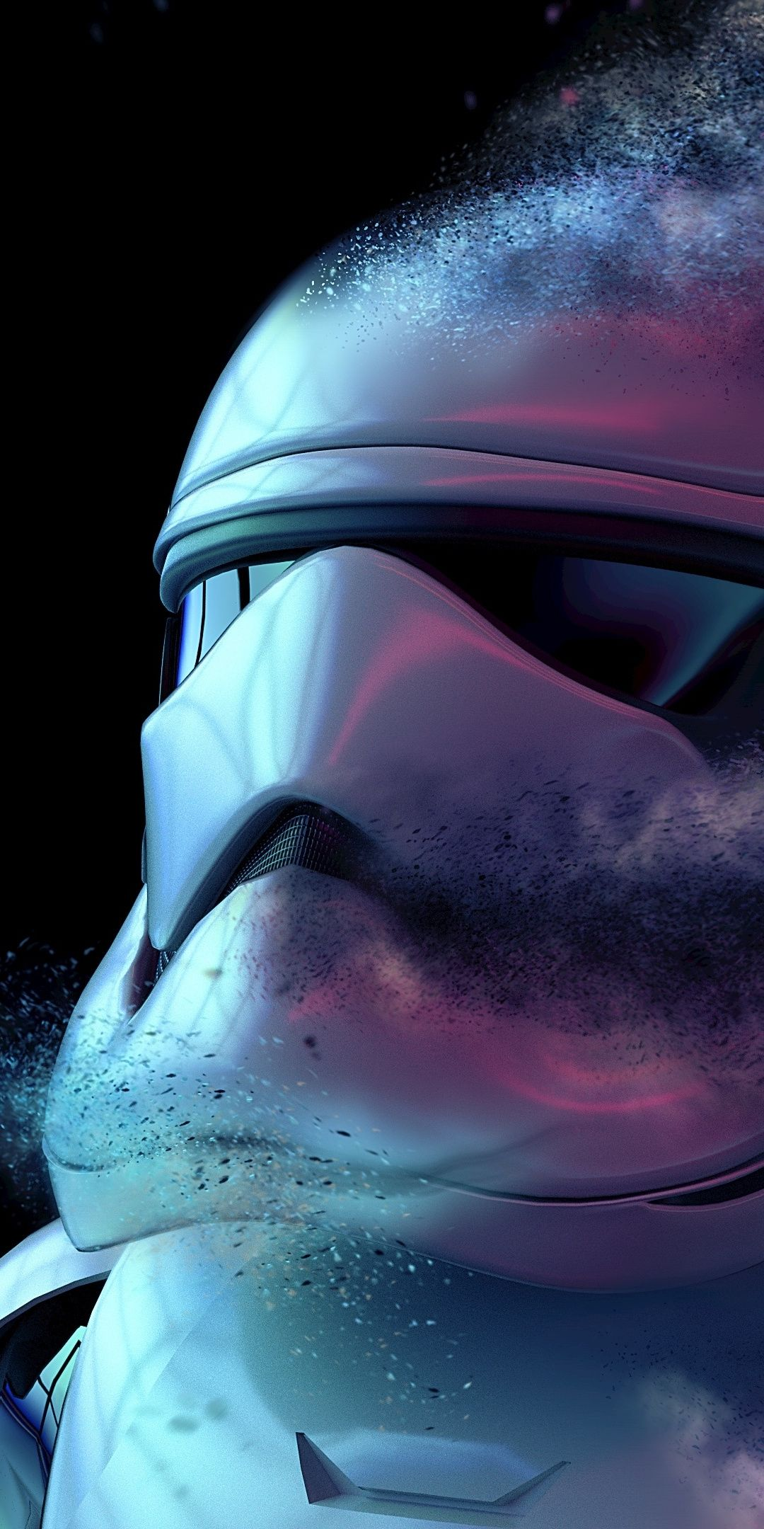 Dusk Stormtrooper Fade Out Art 1080x2160 Wallpaper Star Wars Wallpaper Iphone Pop Art Wallpaper Star Wars Background