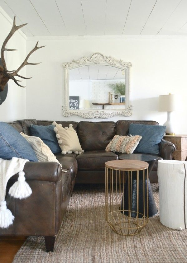 Fall Tour Cozy Minimalist Style For The Home Family Room