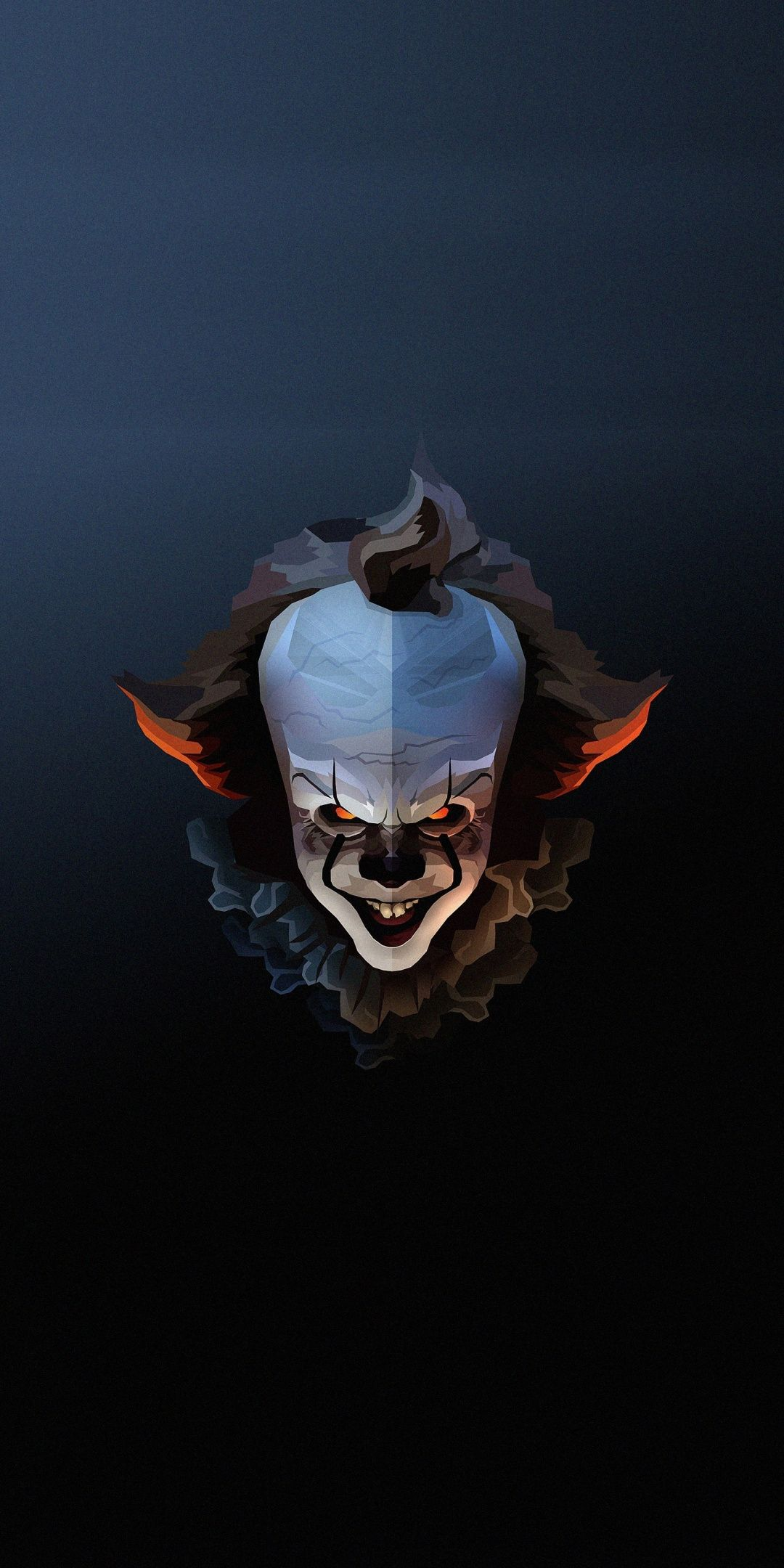 Pennywise The Clown Halloween Artwork 1080x2160 Wallpaper Halloween Wallpaper Iphone Halloween Artwork Pennywise The Clown