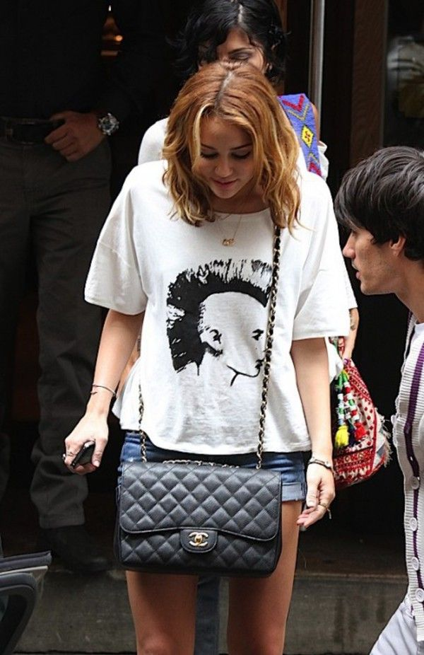 d0d530af5a23 Where to get this Bag: purse cyrus miley cyrus chanel quilted ...