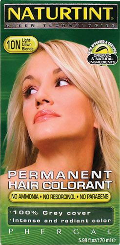 Naturtint Permanent Hair Color - 10N Light Dawn Blonde