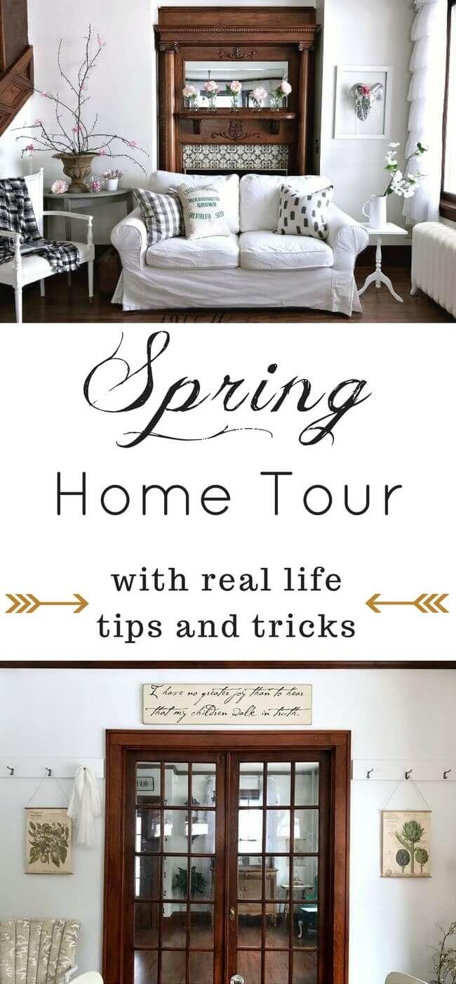 Spring Home Tour | Home, Signs and Home decor ideas