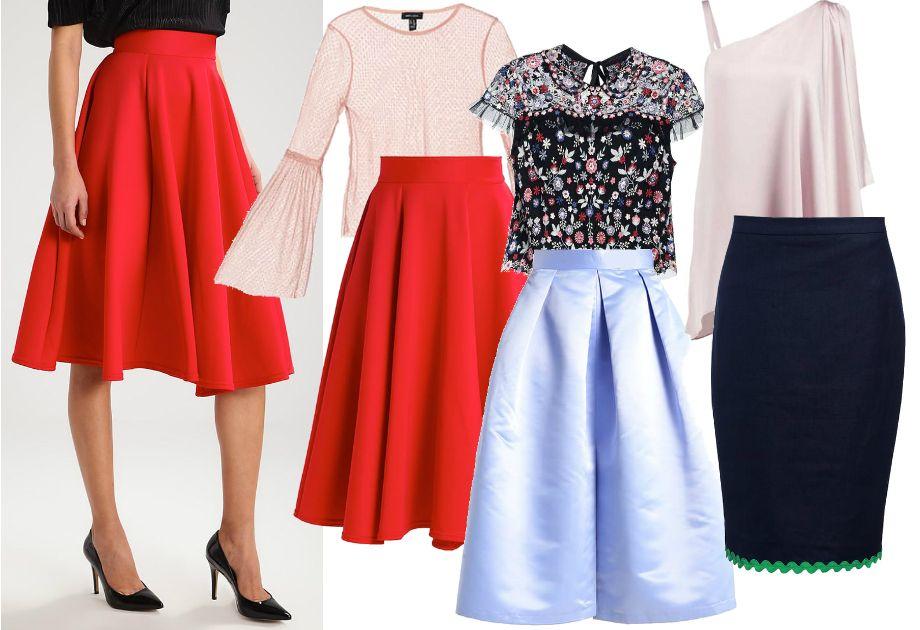 Spodnica Na Wesele Zamiast Sukienki Fashion Skirts High Waisted Skirt