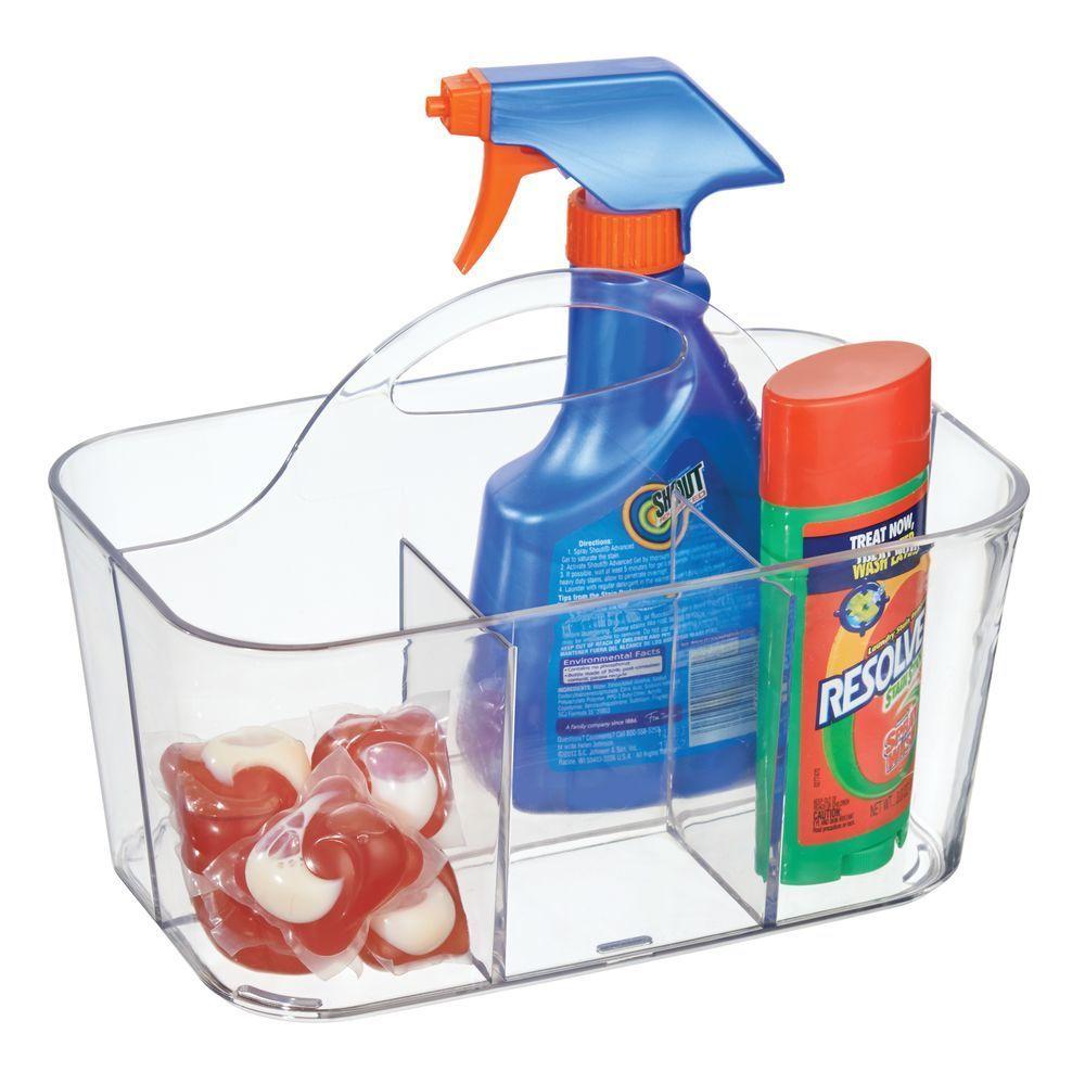 Plastic Laundry Organizer Tote 6 X 9 75 X 6 75 In 2020