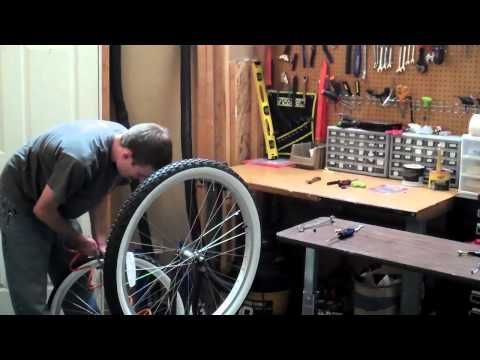 Changing A Bicycle Tube And Tire Beachbikes Com Youtube