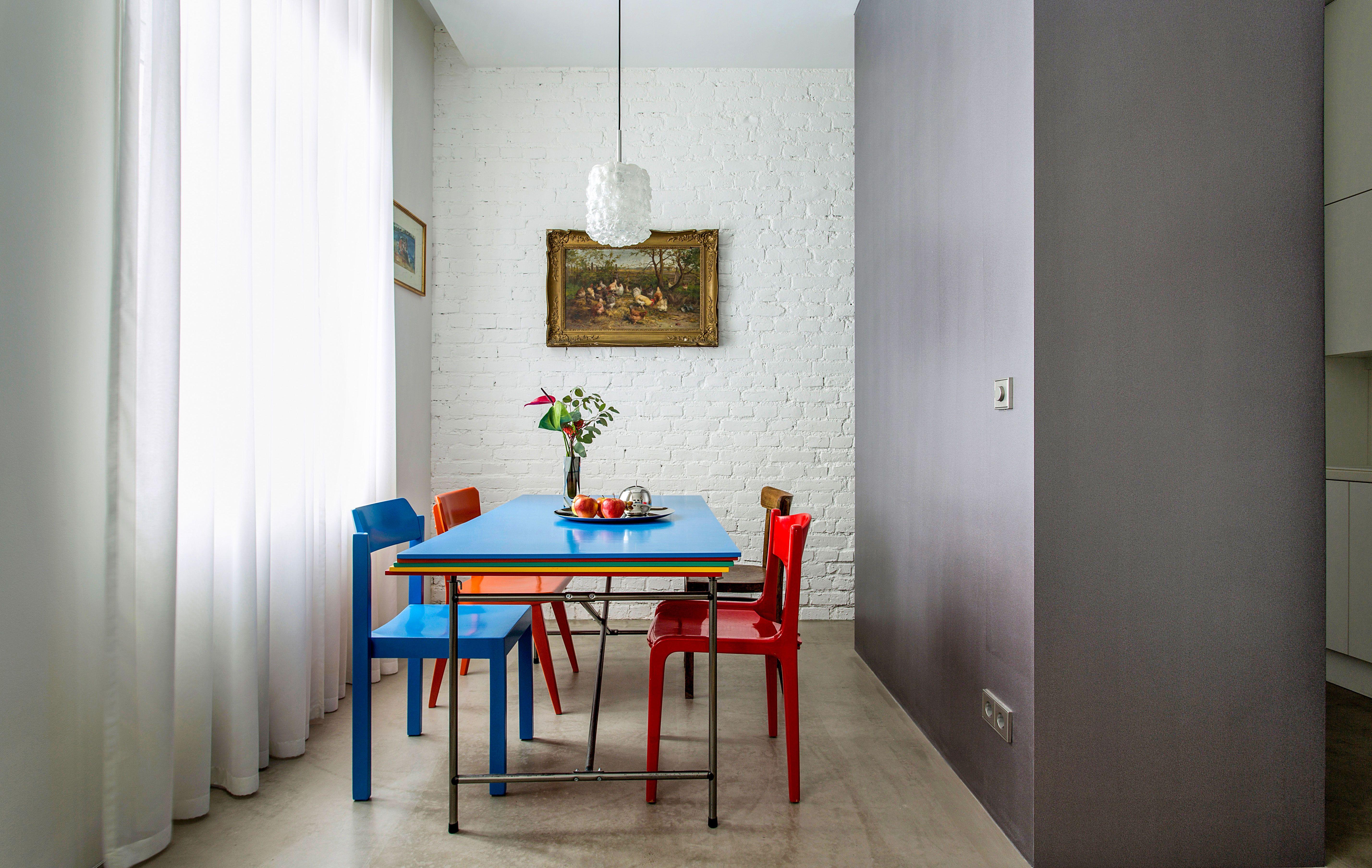 Wohnideen Apartment essbereich in mini apartment in frankfurt wohnideen