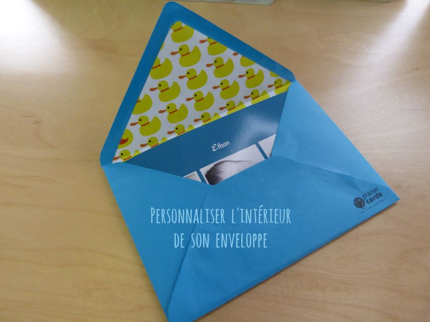DIY pour avoir une enveloppe personnalisée
