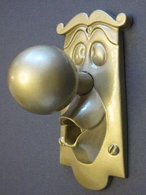 Alice in Wonderland Disney Door Knob