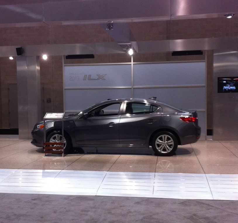 Acura ILX At @BostonAutoShow #Acura